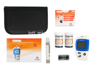 China SAFE-ACCU2 Blood Glucose Monitor , Diabetes Check Machine Concave Nib 2 OEM For Pharmacy supplier