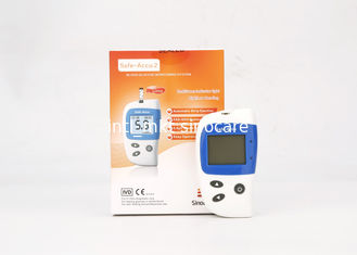 China Accurate Diabetes Glucose Meter Automatic Applying Blood Sample 24 Months Expiry Date supplier
