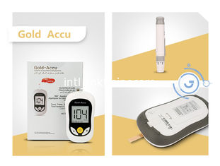 China High Accuracy Digital Blood Sugar Monitoring Kit With Venous 180° Applying Blood supplier