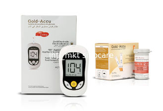 China Diabetic Patient Blood Glucose Meter Kit With Venous Fad-gdh Principle System supplier