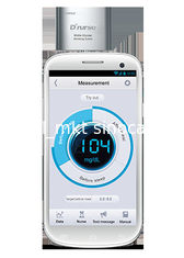 China Mobile Diabetes Blood Monitoring Devices , 10s Test Time Blood Sugar Level Meter supplier