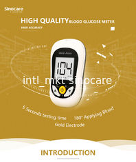 China No Coding Blood Glucose Monitoring System High Accuracy Wild Hematocrit Range supplier