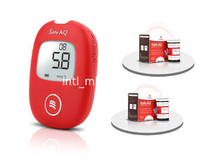China Sinocare Blood Sugar Testing Devices Rapid Test 0.6 Ul Blood Sample No Coding supplier
