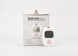 China Blood Count Home Glucose Testing Kit Aq Voice Hct 30% - 60% With Fad-gdh System supplier