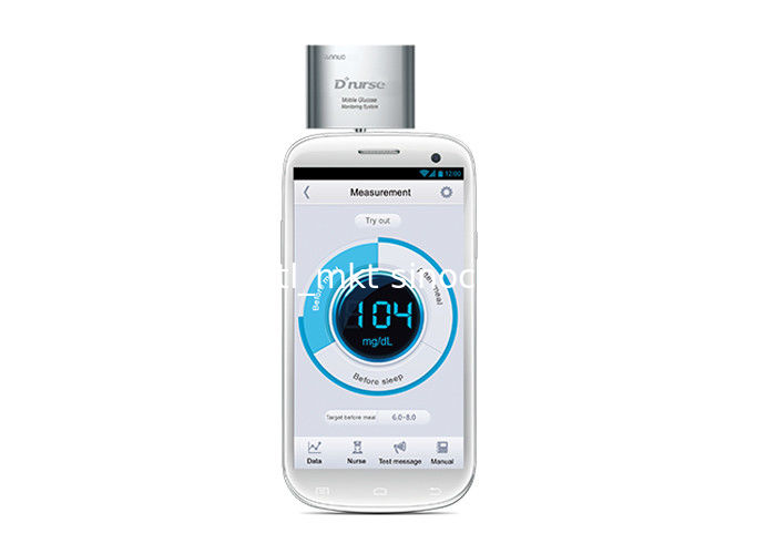 D NURSE Mobile Glucose Meter Testing Machine With Data