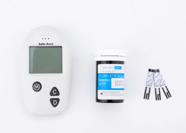 China Rapid Test Result Diabetes Blood Monitoring Devices For Capillary / Venous / Arterial / Blood Types factory