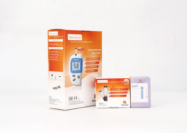 Life Time Warranty Diabetes Glucose Meter With 7/14/28/60/90 Testing Result Average