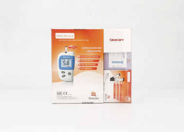 Spanish Version Blood Glucose Meter Kit 5s Est Time With Individual Test Strips