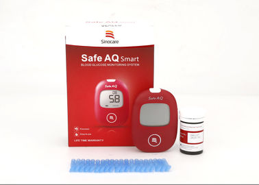 Alternate Site Testing Blood Glucose Monitoring Kit , Blood Sugar Level Kit Russian Version