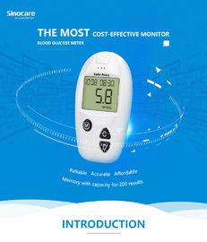 China Domestic Diabetes Blood Monitoring Devices No Coding With Accuracy Result factory