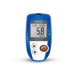 China Ga-7 Chinese Version Blood Sugar Testing Devices 0.6 Ul Blood Sample For Household factory